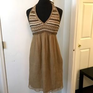 Muse Woven Halter Dress